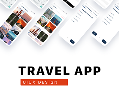 Travel UIUX Design by WSDesign.in team