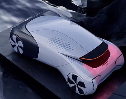 AIR CLEANER CAR Volkswagen internship project (2019)