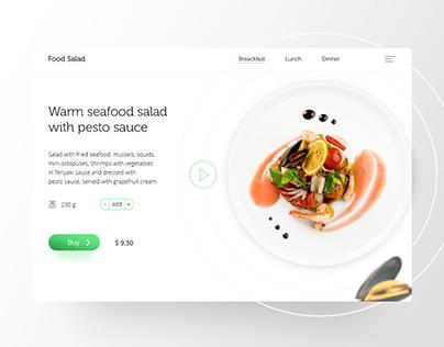 design food salad