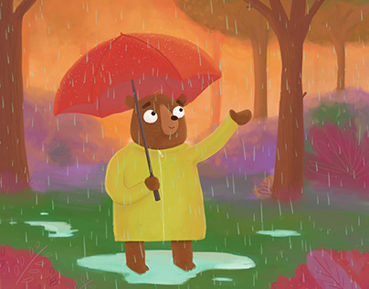 Rainy Day Animation