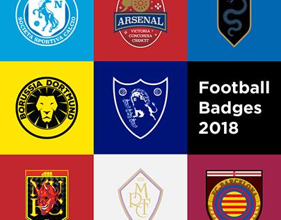 Football Badges 2018