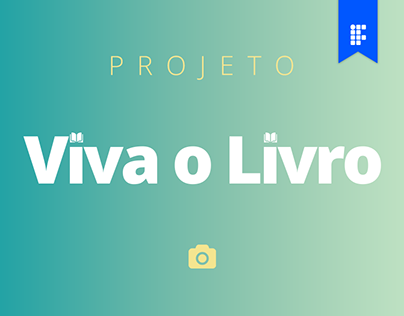 Projeto de Fotografia: Viva o Livro