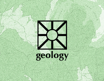 Geology Records Branding, Website + Album Layouts