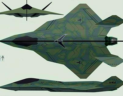 6th gen stealth aircraft
