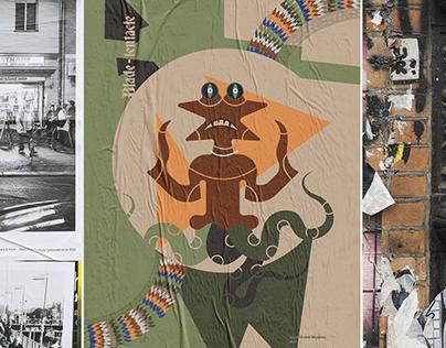 Lucid dream Monsters- Poster series