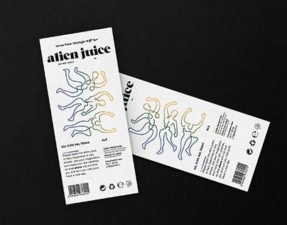 Alien Juice Craft Beer