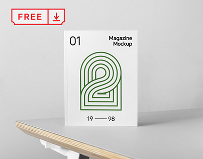Free Front Book Cover Mockup