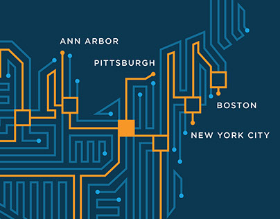 Circuit Board Map