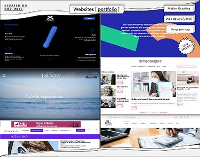 Websites [Portfolio]