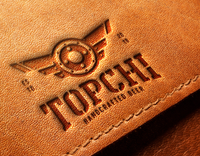 Topchi Handcrafted Beer Branding