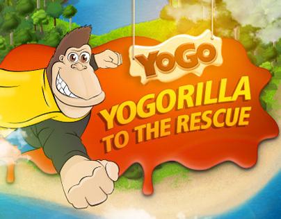 YoGorilla to the Rescue Game
