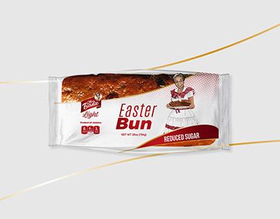 Miss Birdie Light Easter Bun Product Packaging Design