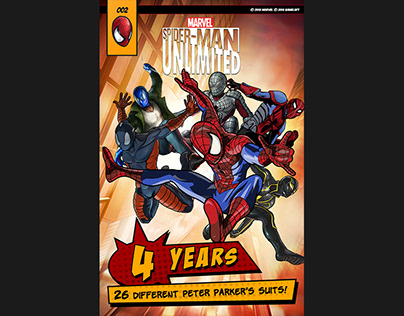 Banner for Gameloft's Spiderman Unlimited - Facts 2