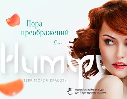 Site beauty shop Nimfa