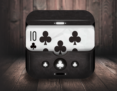 Poker Club - iOS scalable icon