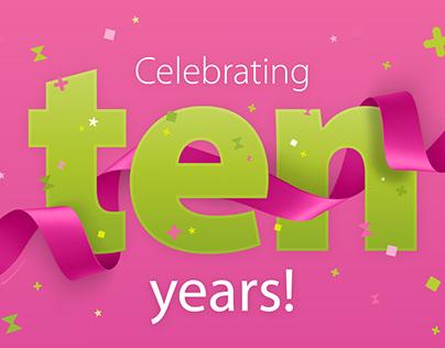 Nine - Celebrating TEN years!