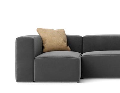 Sofa #04   C4d+Corona   3d Model