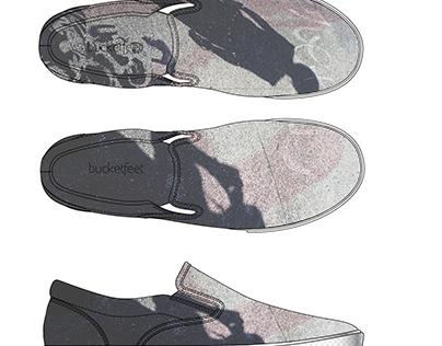 BUCKETFEET Low Top Slip-on