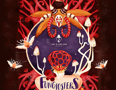 Board card games 2018 Fungiosters