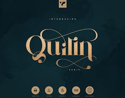 Quilin Serif - latin and cyrillic