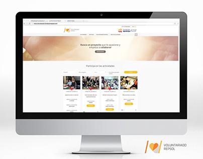 """Video demo de la """"Web de Voluntariado Repsol 2015"""""""