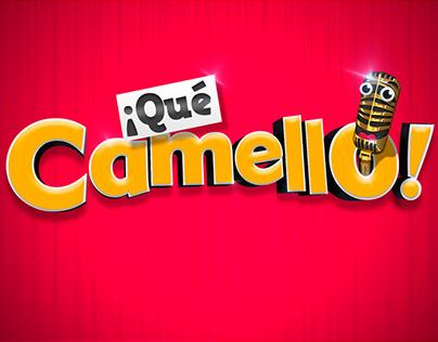 Logo producto ¡Qué Camello!