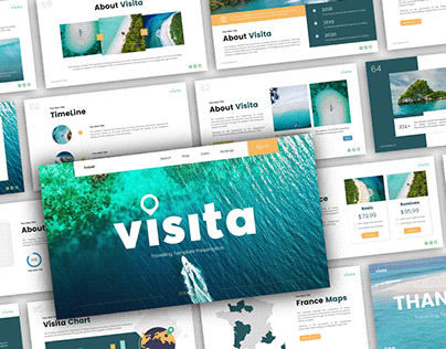 Visita - Travel Presentation Template