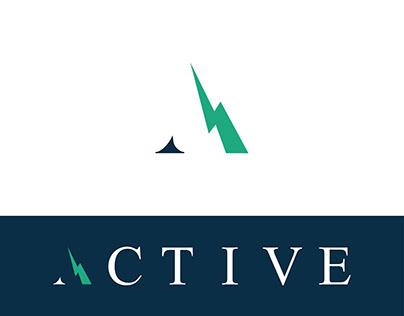 A Letter Logo Design