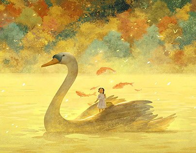 A child's dream 童梦