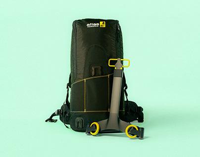 Bagpack + trolley