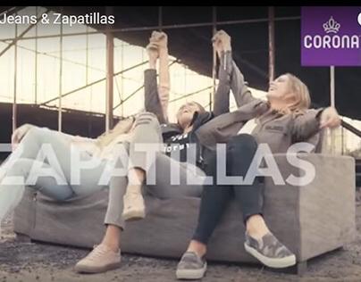 SPOT TV / CORONA - Jeans & Zapatillas