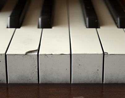 Old Piano Keys (CG)