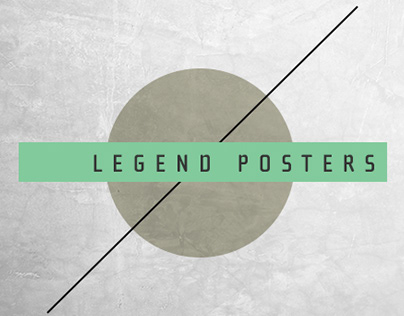 Music legend posters