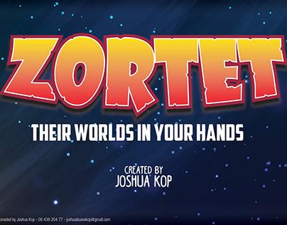 Zortet. A concept by Joshua Kop