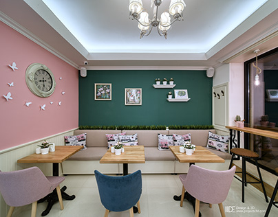 "Interior design of pastry shop ""Kumanovi"""
