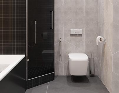 "Kyber. Bathroom ""Shmidt Studio"""