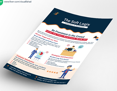 Corporate Flyer Design | The Soft Logix