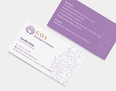 Gaya brand identity