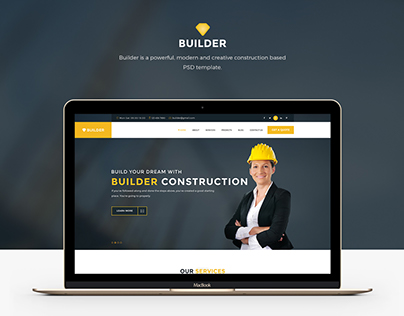 Builder- Construction Web Template