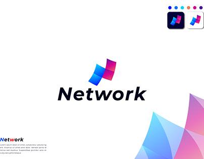 N Modern Logo Design - Brand Identity - Logo folio