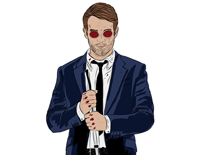 Matt Murdock Digital Drawing