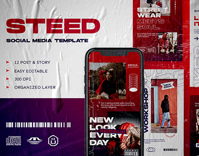 Steed Social Media Template