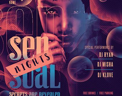 Sensual Night Flyer
