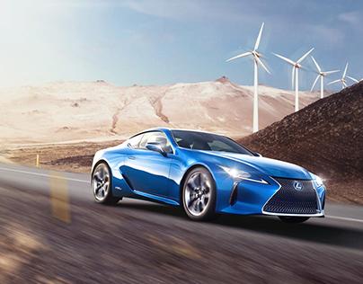 Lexus Hybrid - LC 500h-concept campaign