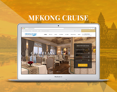 Mekong River Cruiser Web Design