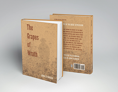 Book Cover: The Grapes of Wrath