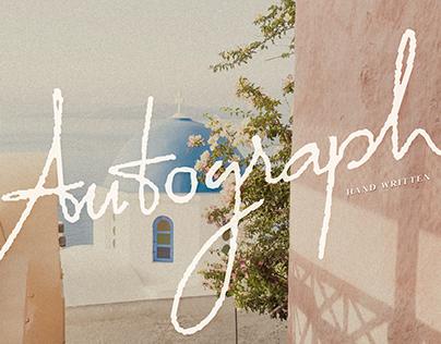 Autograph - Handwritten Font