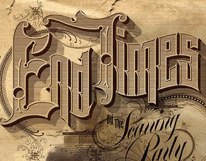 Scarring Party Album Design