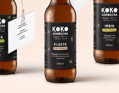 KOKO Kombucha - Probiotic Drink
