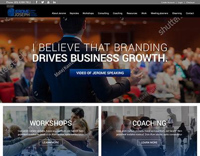 Professional Speaker Website Singapore